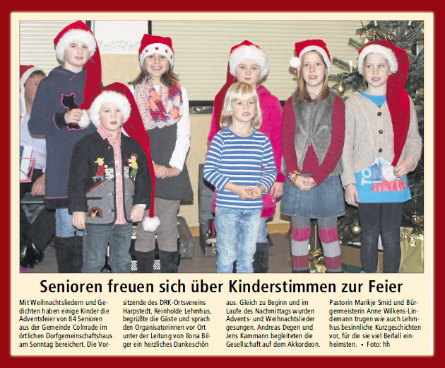 2014 Adventsfeier DRK in Colnrade